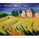 """Kunstdruck """"Provence"""" limitiert u. handsigniert v. Regine Lemke-Kalweit"""